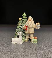 Фігурка декоративна, новорічна Дід Мороз 8,5 см 191-051