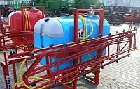 Опрыскиватель 800 л / 16 м  на  трактор  навесной Виракс  Wirax  плавающий механизм, фото 1