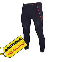 Кальсоны-компрессионные штаны мужские теплые для спорта и бега Термоштаны Blizzard Mens Черный (140352-XS-S)