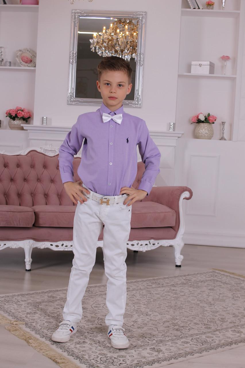 Белые брюки Armani для мальчика