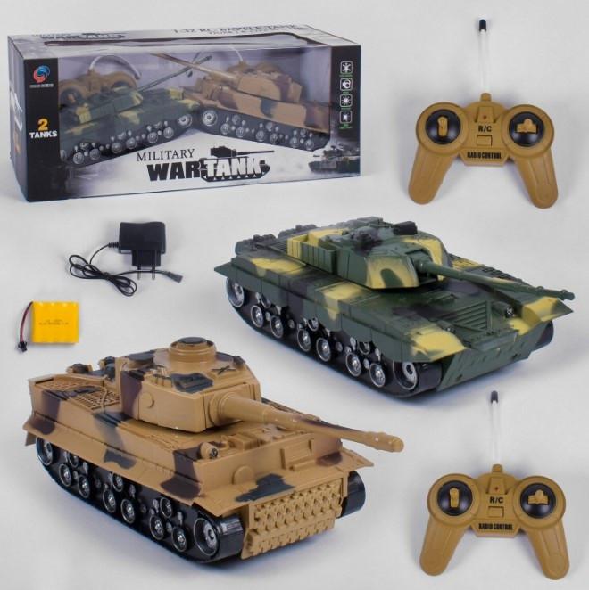 Радиоуправляемый танк 369-23