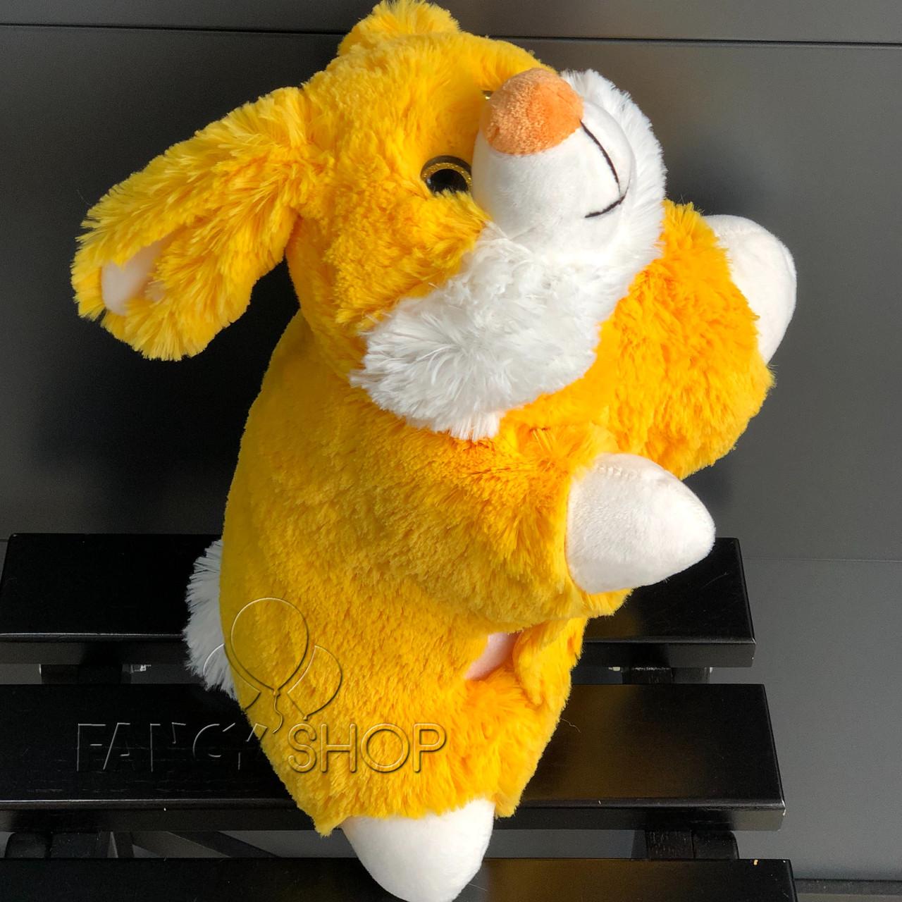"Іграшка подушка - трансформер ""Зайчик"", Мягкая подушка ""Зайка"" В249/0"
