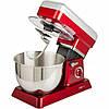Кухонный комбайн миксер планетарный CLATRONIC KM 3630 красный + кухонные весы в подарок, фото 8