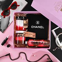 """Подарочный набор для женщины. Подарок жене . Подарок девушке """"Шанел """""""