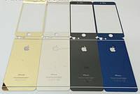 Захисне скло Mirror Tempered Glass for iPhone 6 black