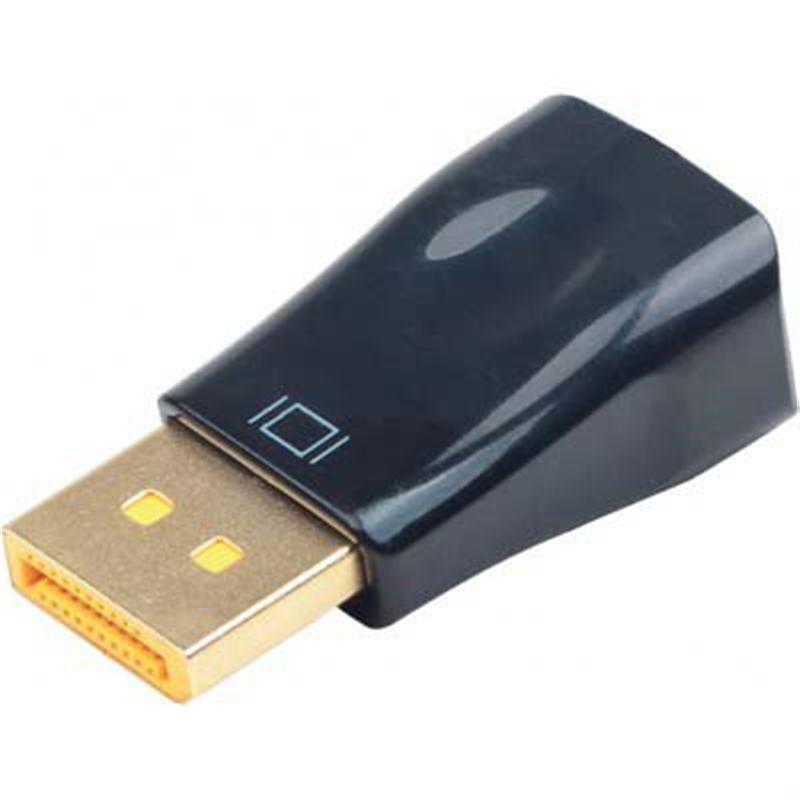 Адаптер Cablexpert (A-DPM-VGAF-01) DisplayPort-VGA, черный