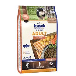 Корм Bosch Adult Fish&Kartoffel Бош Едалт Риба з Картоплею для собак 15 кг