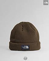 Вязанная шапка The North Face Salty Dog(хаки)