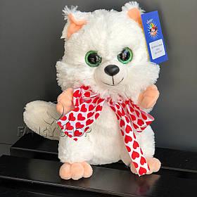 "Іграшка мяка ""Котик"", білий, Мягкая игрушка ""Котик"" В214"