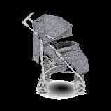 Коляска - трость Lionelo Irma чехол на ножки дождевик и москитная сетка Пром, фото 5