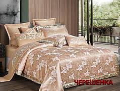 Двуспальный набор постельного белья 180*220 из Жаккарда №021AB KRISPOL™