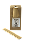 Трубочка бумажная B.A.R. 197x6 мм, 250 шт. Естественный крафт (2146), фото 3