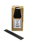 Трубочка бумажная B.A.R. 197x6 мм, 250 шт. Черная (2132), фото 2