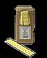 Трубочка бумажная B.A.R. 197x6 мм, 250 шт. Желтая полоска (2126), фото 2