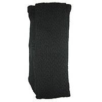 Колготки женские вязаные узорчатые (темно-серые), фото 1