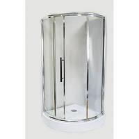 Душевая кабина 100х100 см AquaStream PREMIUM 110 L одна дверь