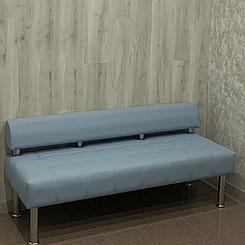Офісний диван тримісний без підлокітників Тонус екошкіра БЕЗКОШТОВНА ДОСТАВКА