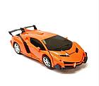 ОПТ Машинка Трансформер Lamborghini Robot Car Size 1:12, фото 2