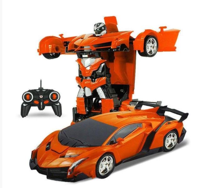 ОПТ Машинка Трансформер Lamborghini Robot Car Size 1:12