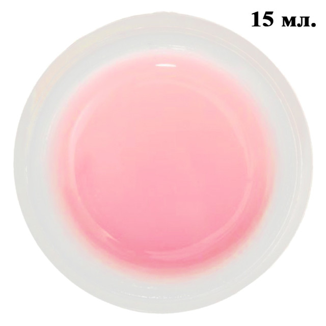 Розовый Гель для Наращивания Ногтей 15 мл Lina, Материалы для Наращивания Ногтей, Гель для Ногтей