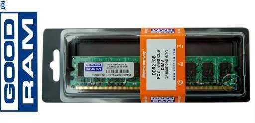 Модуль памяти DDR2 2GB/800 GOODRAM (GR800D264L6/2G)