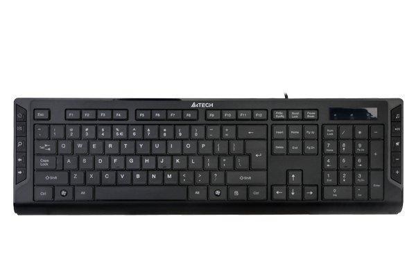Клавіатура A4-Tech KD-600 USB, мультимедійна,чорна