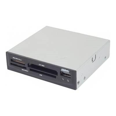 Кардридер Gembird USB 2.0 FDI2-ALLIN1-AB Black
