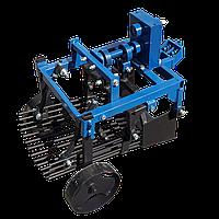 Картоплекопач вібраційний ZIRKA-105 під ВОМ на мотоблок з ходозменшувачем (без карданного валу) (КК18)