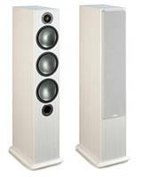 Monitor Audio Bronze 6 напольная HiFi акустическая система White Ash, белый ясень, фото 1