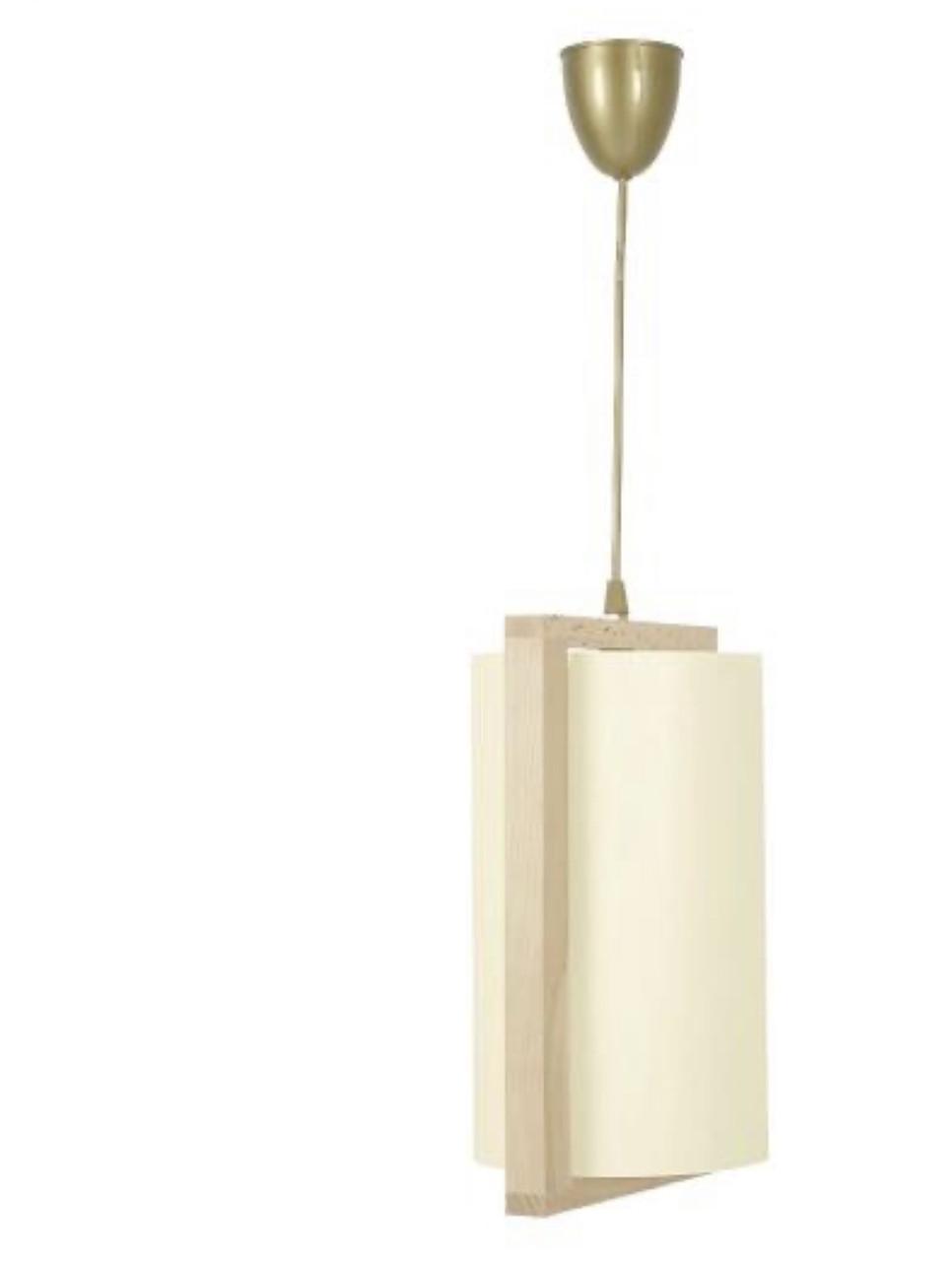 Подвесной деревяный светильник Nowodvorski 1083 Geo Bambus