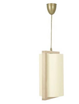Подвесной деревяный светильник Nowodvorski 1083 Geo Bambus, фото 2