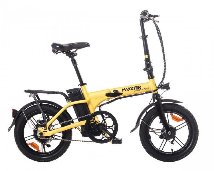 Електричний велосипед Maxxter URBAN PLUS (yellow-black)