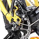 Електричний велосипед Maxxter URBAN PLUS (yellow-black), фото 3