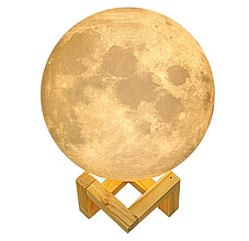 Детский ночник Луна 3D Moon Touch Control FC 20 см. FC