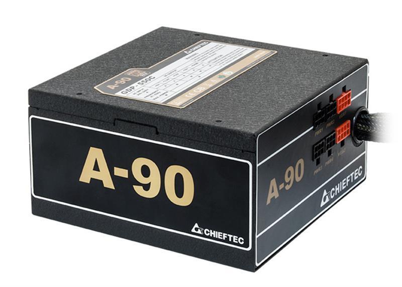 Блок питания Chieftec GDP-750C, ATX 2.3, APFC, 14cm fan, Gold, modular, RTL