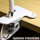 ОПТ ОПТ Світлодіодна настільна лампа XSD-206 USB 24 LED на прищіпці, фото 3