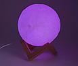 Детский ночник Луна 3D Moon Touch Control FC 20 см. FC, фото 7