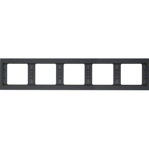 Рамка 5-а, антрацит, горизонтальная, K.1, 13937006