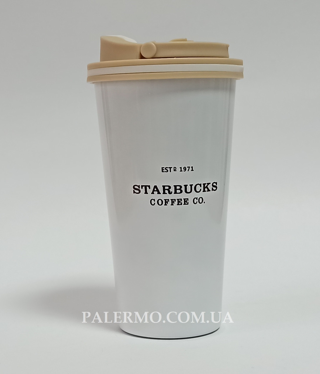 Термокружка 0,5 л Starbucks Coffee Co. біла