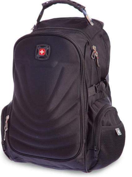 Рюкзак міський в стилі VICTORINOX Swiss Gear 8861BK чорний
