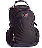 Рюкзак міський в стилі VICTORINOX Swiss Gear 8861BK чорний, фото 2