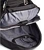 Рюкзак міський в стилі VICTORINOX Swiss Gear 8861BK чорний, фото 5