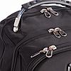 Рюкзак міський в стилі VICTORINOX Swiss Gear 8861BK чорний, фото 6