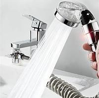 Душевая система на умывальник с турмалином modified faucet with external shower, фото 1