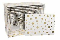 Подарочные коробочки оптом 18 в 1 крупный горошек