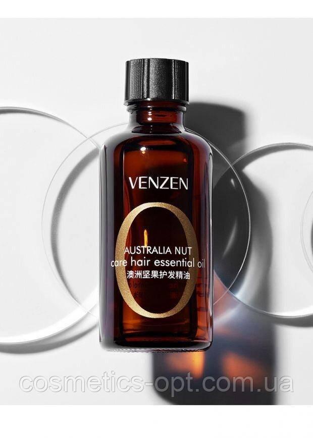 Укрепляющее масло макадамии для волос VENZEN Australia Nut Care Hair Essential Oil, 50 мл
