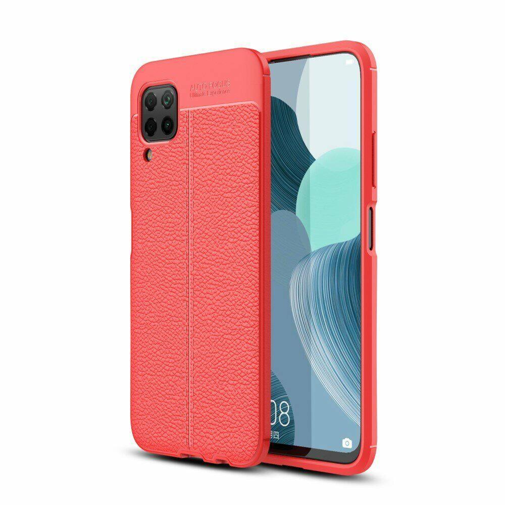 Чохол Fiji Focus для Huawei P40 Lite силікон Original Soft Touch червоний