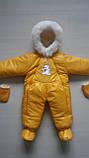 Зимний комбинезон конверт на овчине, фото 8