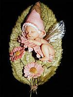 Картина рисование по номерам Чарівний діамант Маленькая феечка РКДИ-0229 30х40см набор для росписи, краски,, фото 1