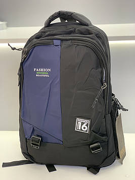 Мужской рюкзак повседневный / Стильный молодежный рюкзак